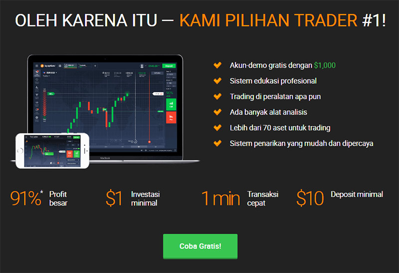 Trading Binary Option Tidak Selamanya Judi - cryptonews.id